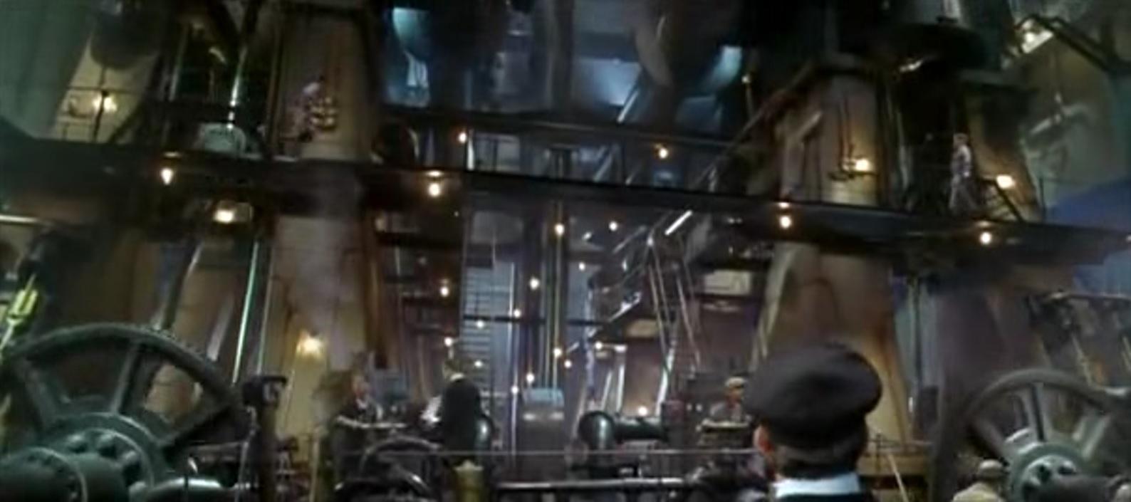 Reciprocating Engine Room