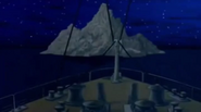 The Iceberg, as seen in Titanic The Legend Goes On (2000)