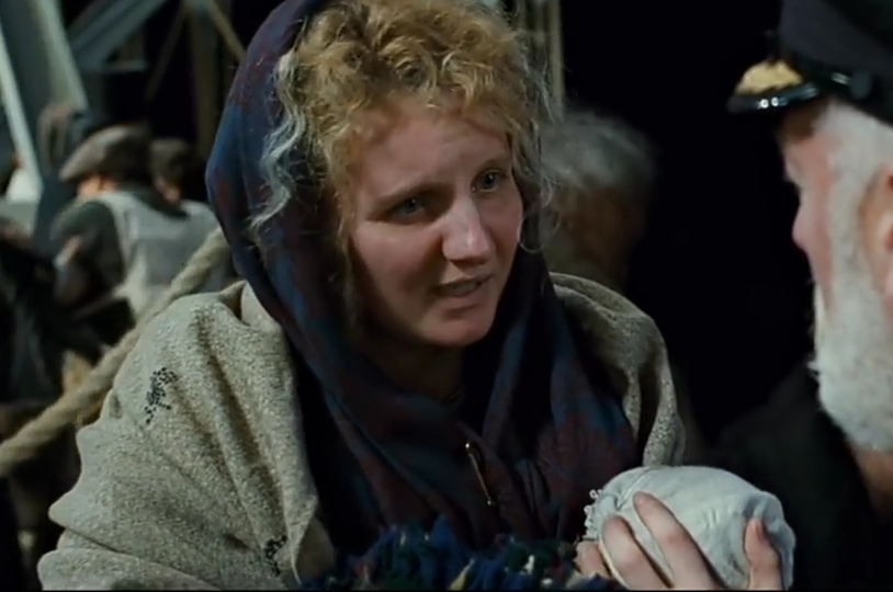 Third Class Woman with Baby (1997 Titanic Film)
