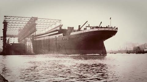 A Construction of the titanic seen as never before. TITANIC, The history of 401