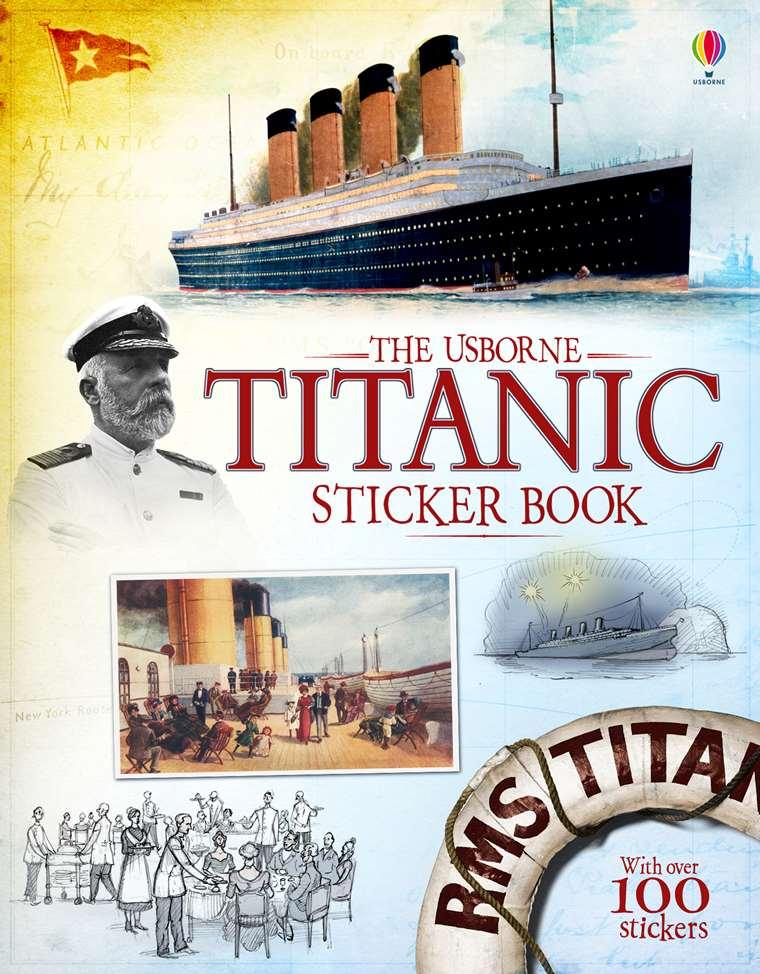 The Usborne Titanic Sticker Book