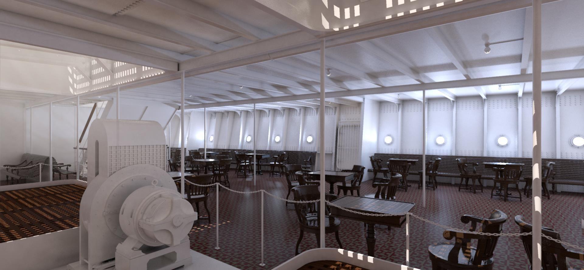 Third Class Open Space