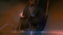 Break-up of the Titanic in the 1996 Miniseries Titanic