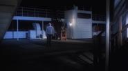 The Titanic's stern, as seen in S.O.S. Titanic (1979)