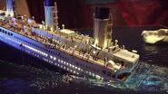 RMS TITANIC - Model Diorama 1 700