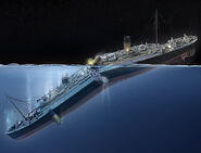 The Titanic Breaking (From the Kollected - National Geographic collaboration