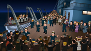 The Boat deck in Family Guy -Stewie, Chris & Brian's Excellent Adventure- (2015)