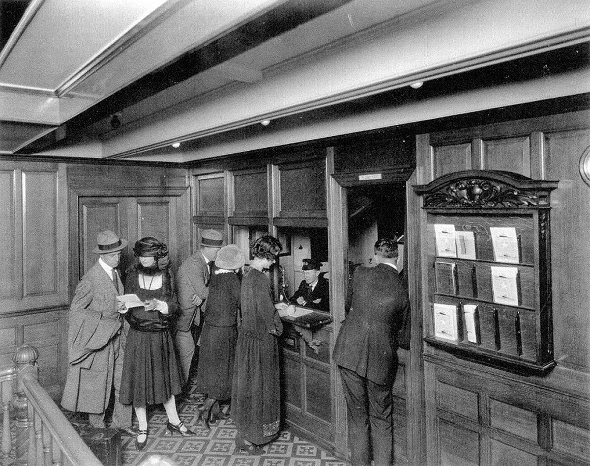 Second Class Purser's Office