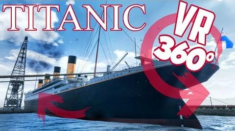 360° VR Experience Inside the TITANIC Part.3 Deck E&F 8K Virtual Tour Panoramas (Honor and Glory)