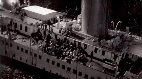 Behind the scenes footage of the 1997 Titanic movie - imagens dos bastidores do filme Titanic 1997