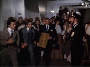 The Boat deck in Voyagers -Voyagers Of The Titanic- (1983)