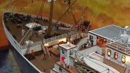 Titanic model diorama, 1 100, scratchbuild, Rodrigo Piller, Brasil