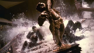 Grand Staircase Flooding in Titanic (1996)