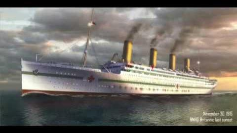 Animated story of the HMHS Britannic
