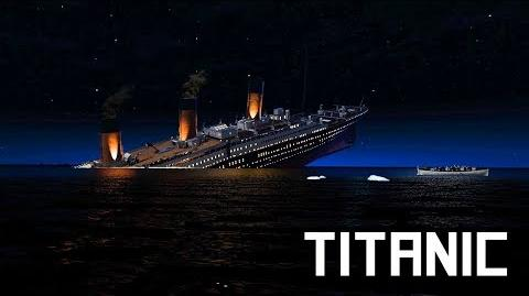 Final minutes of the Titanic (April 15th 1912)
