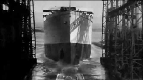 20 October 1910 RMS Olympic Launch