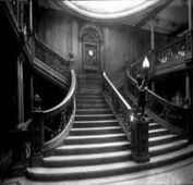 Forward 1st Class Lower Grand Staircase