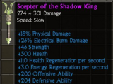 Scepter of the Shadow King