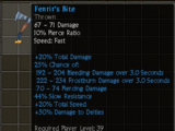 Fenrir's Bite