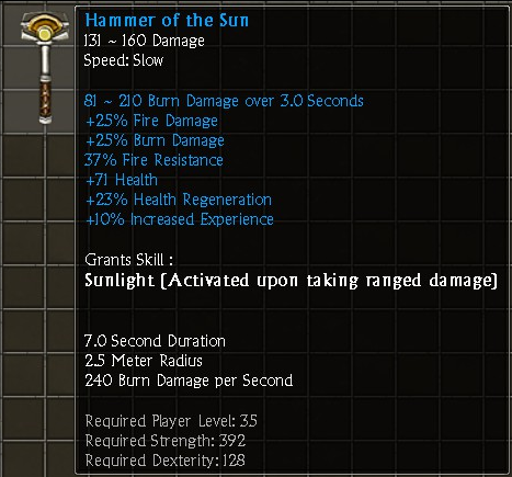 Hammer of the Sun