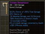 Golden Decapitator