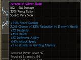 Artemis' Silver Bow