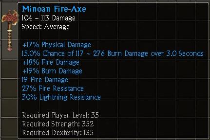 Minoan Fire-Axe