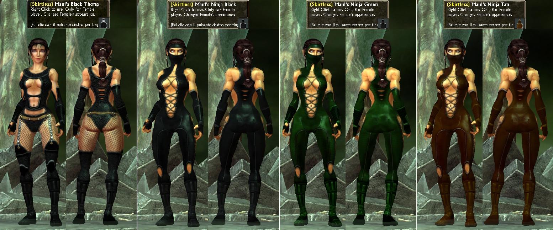 AllSkins0.8 Female (Skirtless) Non-Adult Skins