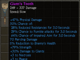 Giant's Tooth