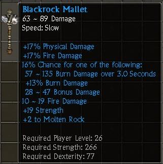 Blackrock Mallet