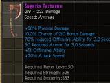 Sagaris Tartarus