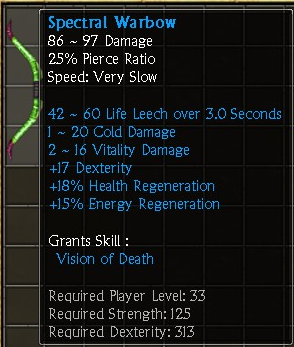 Spectral Warbow