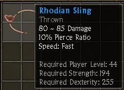 Rhodian Sling