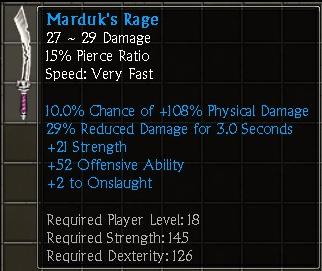 Marduk's Rage