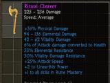 Ritual Cleaver