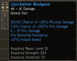 Quicksilver Bludgeon