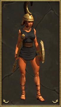 Hector's Bronze Armor