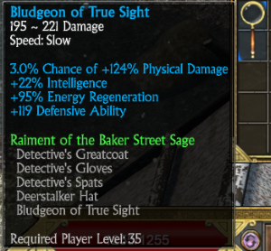 Bludgeon of True Sight