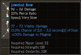 Jeweled Bow