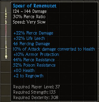 Spear of Renenutet
