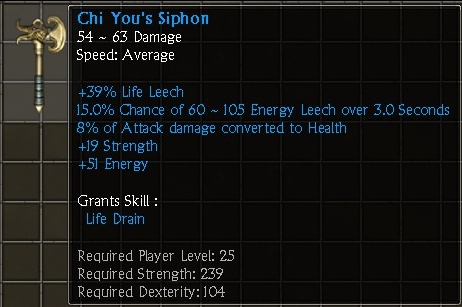 Chi You's Siphon