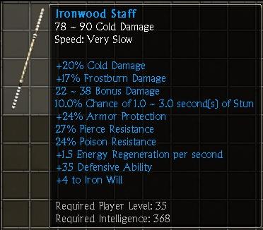 Ironwood Staff