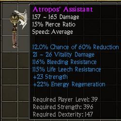 Atropos' Asistant
