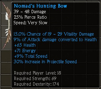 Nomad's Hunting Bow