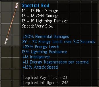 Spectral Rod