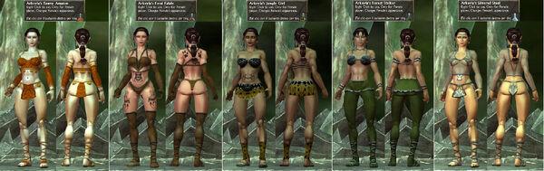 Arkeyla Amazon-FeralFatale-JungleGirl-ForestStalker-SilveredSteel.jpg