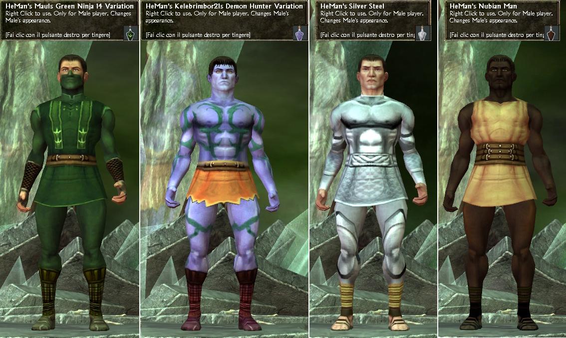 AllSkins 0.8 Male (Dress-Skirt-Skirtless) Non-Adult Skins