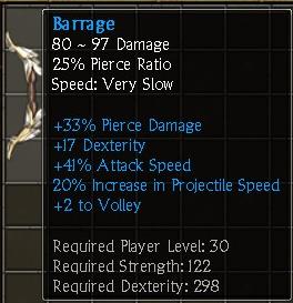 Barrage (Bow)