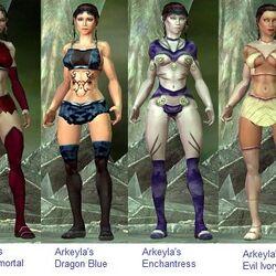 AllSkins0.7 Female Non-Adult Skins