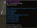 Archon's Judgment